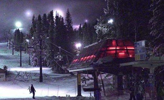 Boreal Night Skiing