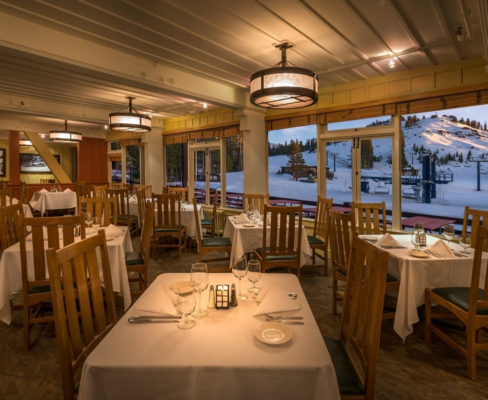Dining Room and Belt Room Bar at Sugar Bowl - Go Tahoe North