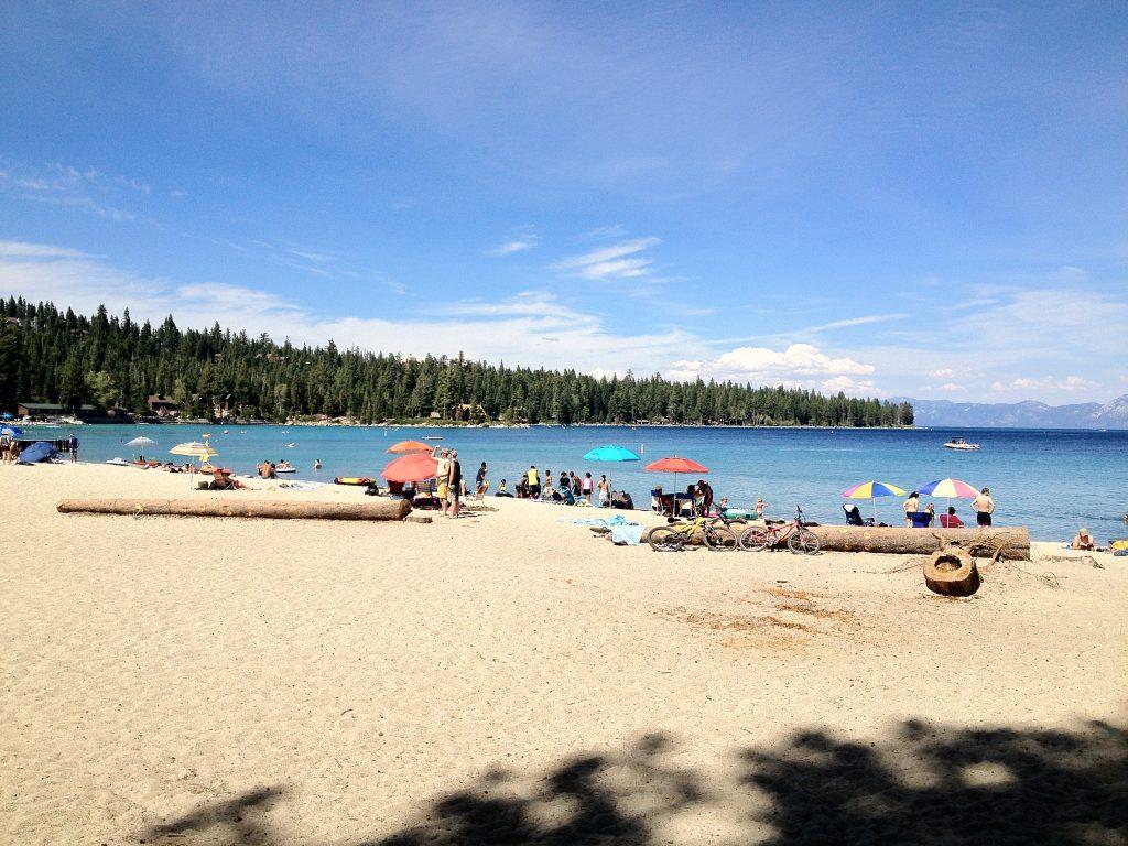 Meeks bay beach go tahoe north for Clean beaches in california