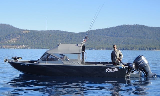 Sierra fin addicts guide service go tahoe north for Shore fishing lake tahoe