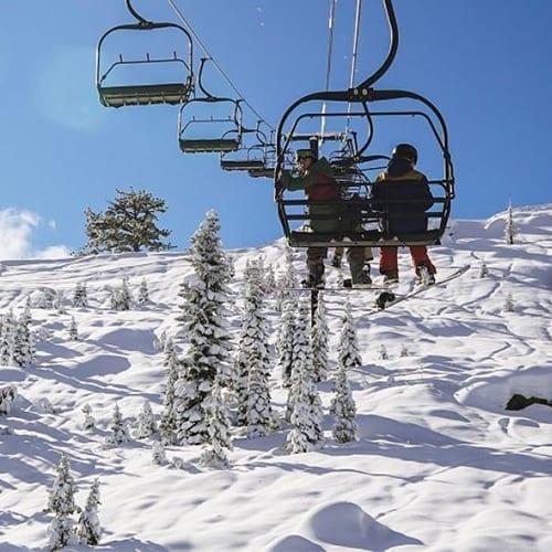 Soda Ski Lift