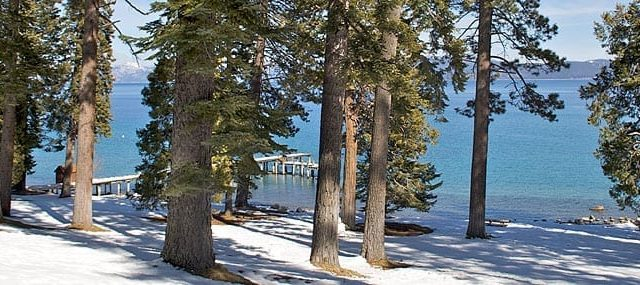 Sugar Pine Point in the snow