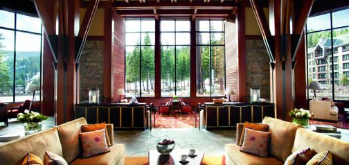 The Living Room At The Ritz Carlton Lake Tahoe Go Tahoe North