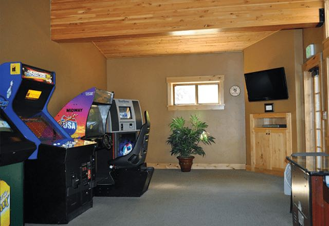Olympic Village Inn Game Room
