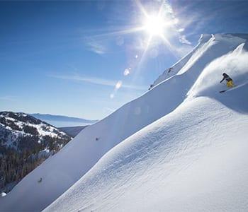 Skier Matt Reardon