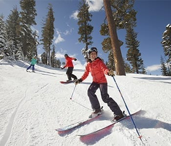 Family Skiing Squaw