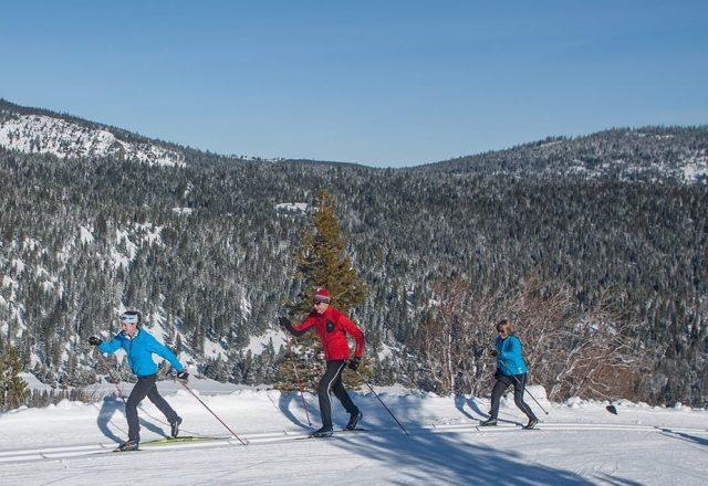 Tahoe Donner XC-Skiing