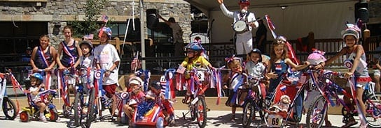 4th Of July Kids Bike Parade Go Tahoe North