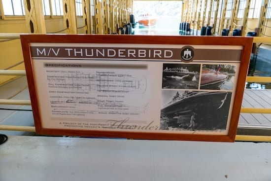 thunderbird yacht north lake tahoe history