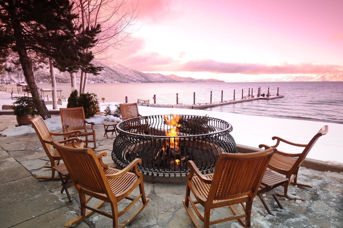 Relax those sore muscles and rejuvenate yourself at North Lake Tahoe's Hyatt regency.
