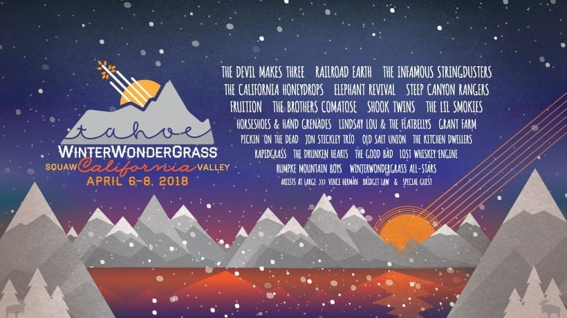 Experience an amazing line up at Winer Wondergrass Tahoe Festival!