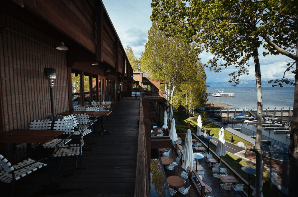 Jake's on the lake is just one of many amazing Tahoe Restaurants.