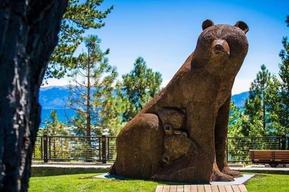 Beautiful art in North Lake Tahoe