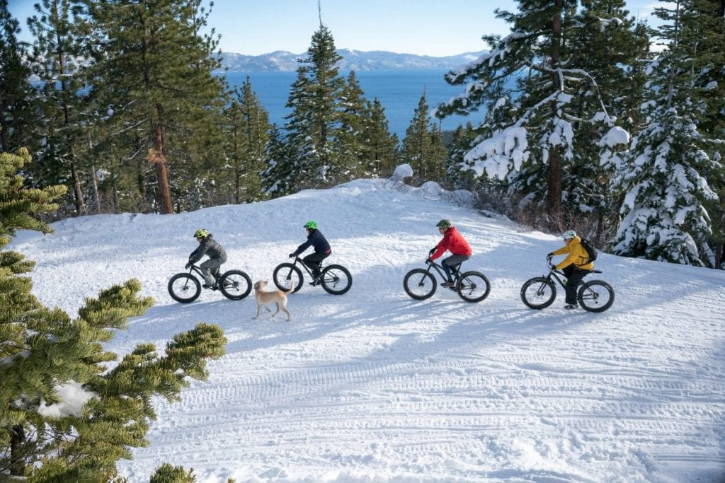 Winter sports in North Lake Tahoe.