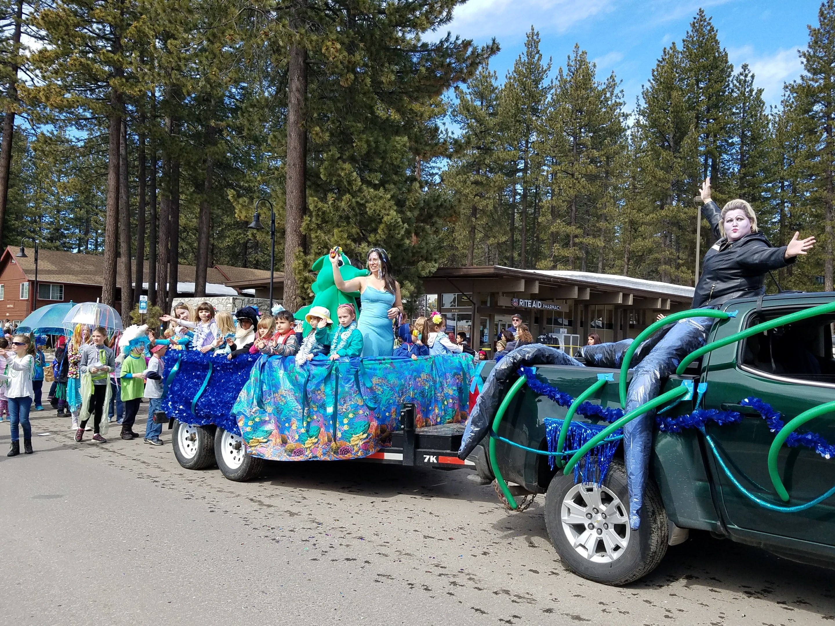 Kings Beach Snowfest Parade Go Tahoe North