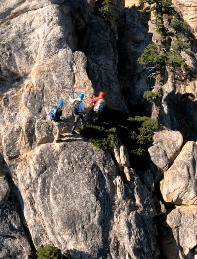 Lake Tahoe Rock Climbers