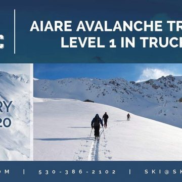 NASTC AIARE avalance training level 1