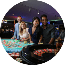 Non-stop action and gaming at the table or slots on the Nevada side of North Lake Tahoe