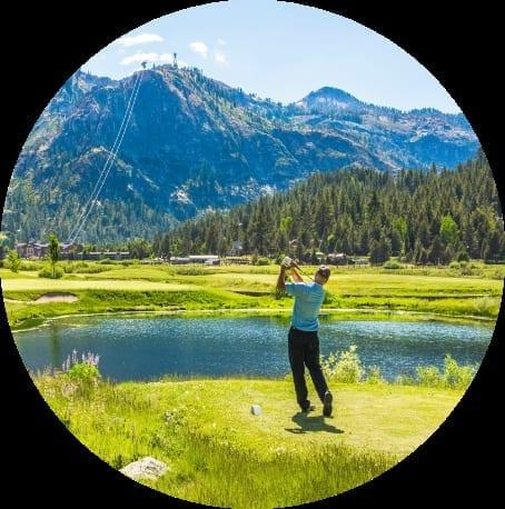 Golf around Lake Tahoe