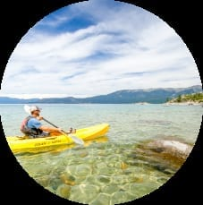 Explore the Lake by Kayak