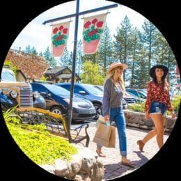 Shopping in Lake Tahoe