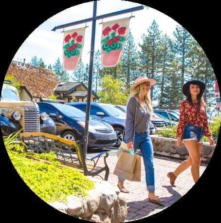Shopping in Lake Tahoe