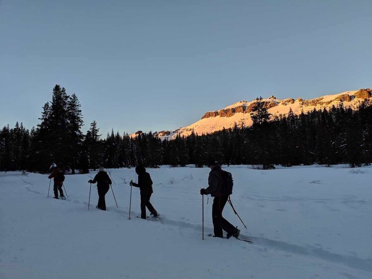 Lake Tahoe events: Full Moon Snowshoe Tour