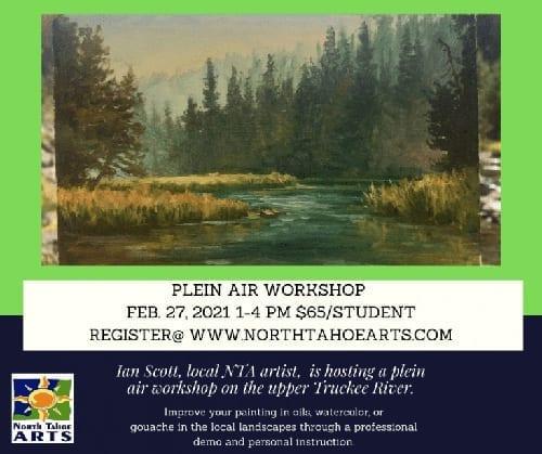 Plein air workshop in February