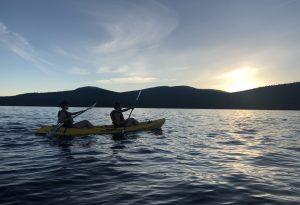 Lake Tahoe events: Sunset Kayak Tours