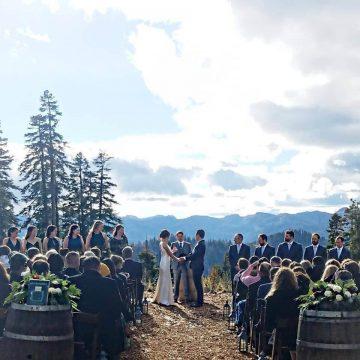 Stephanie Marie & Co. is a Lake Tahoe Wedding Planning company