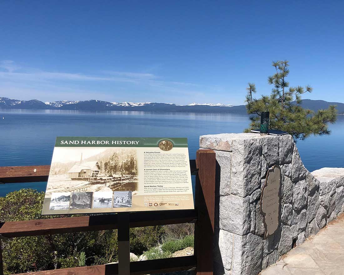 Tahoe East Shore Trail Sand Harbor