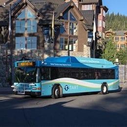 North Lake Tahoe TART bus
