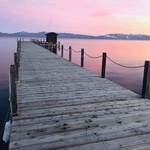 Sunset Tahoe City