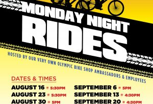 Lake Tahoe events: Olympic Bike Shop   Monday Night Rides
