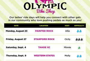 Lake Tahoe events: Ladies' Ride Days   Page Meadows