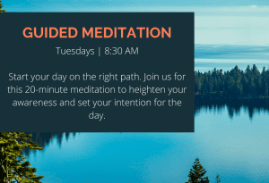 Lake Tahoe events: Guided Meditation