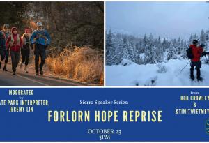 Lake Tahoe events: Sierra Speaker Series: Forlorn Hope Expedition Reprise